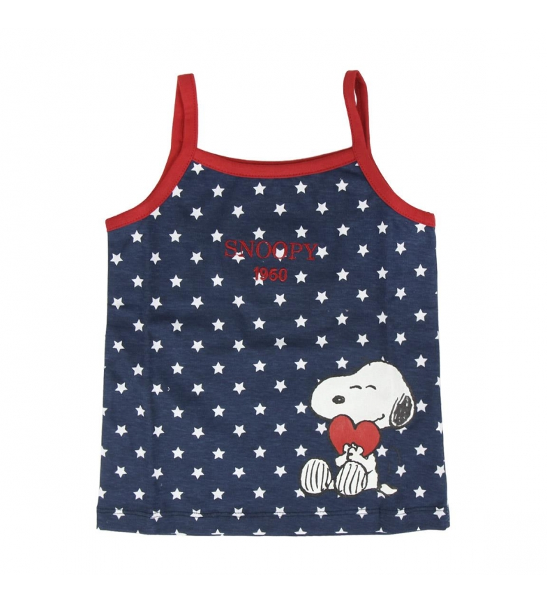 Comprar Disney & Friends Pajama Shorts Single Jersey Snoopy Marine