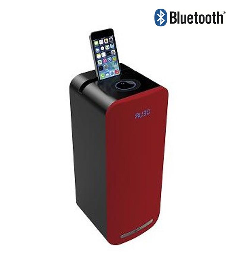 Comprar Sogo Altavoz minitorre con bluetooth color rojo