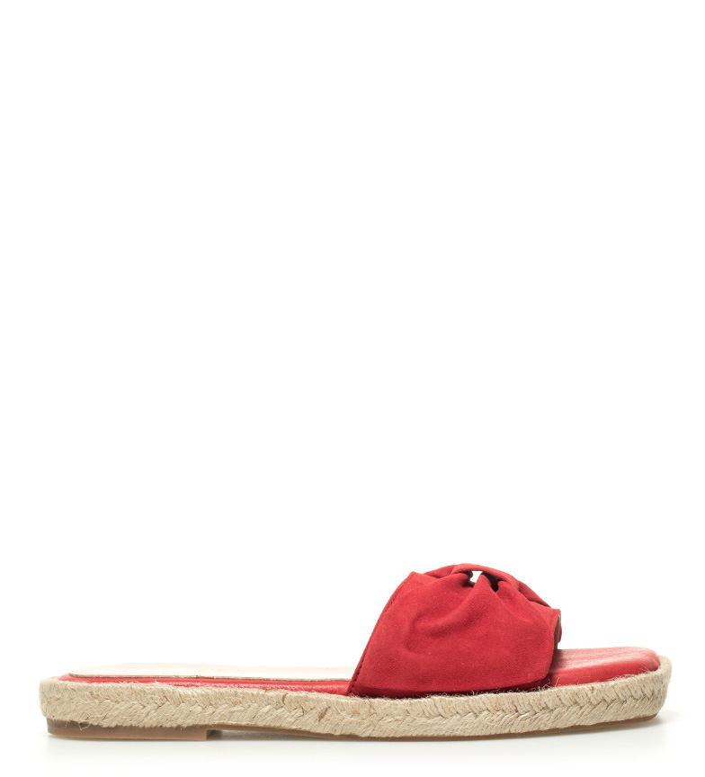 Comprar Som Ibiza Sandales en cuir rouge Canar