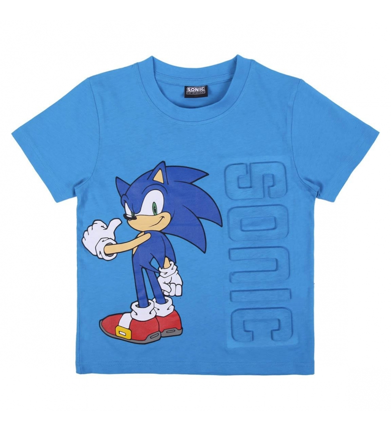 Comprar Cerdá Group T-Shirt Short Applications Single Jersey blue
