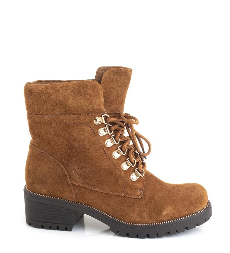 Comprar Sonnax Black Kathe leather boots -Heel height: 4.5 cm