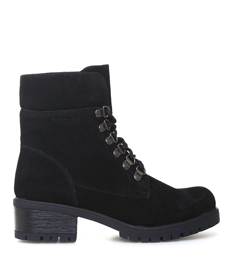 Comprar Sonnax Botas de couro Black Kathe - Altura do calcanhar: 4,5 cm
