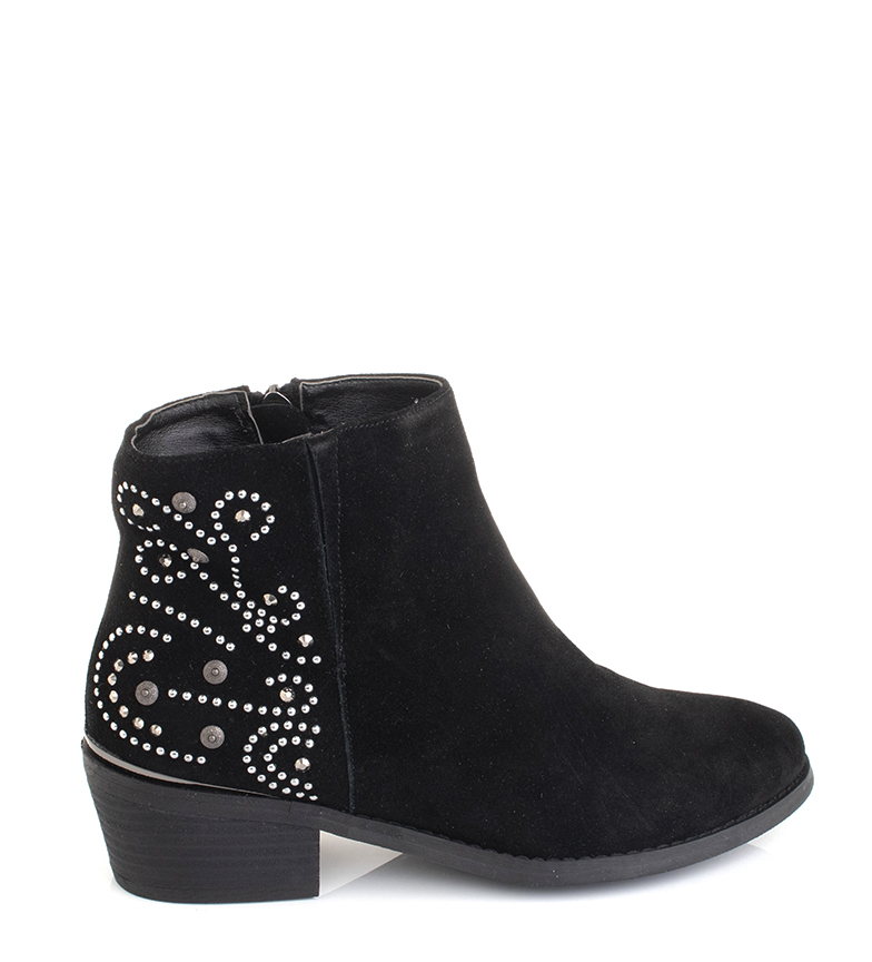 Comprar Sonnax Keyla brown leather ankle boots - Heel height: 5cm-