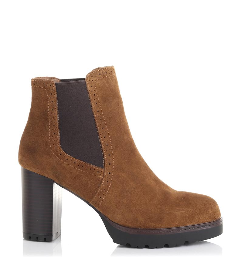 Comprar Sonnax Laura botas de couro preto - Altura do calcanhar: 9cm