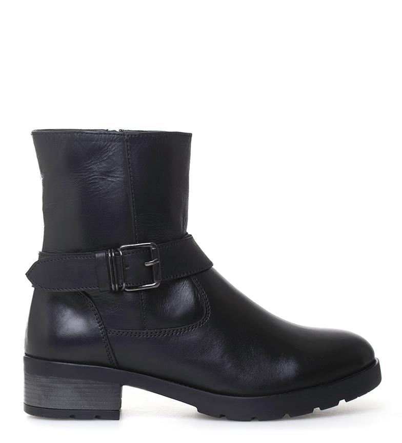 Comprar Sonnax Suki botas de couro preto - altura da roda: 4 cm