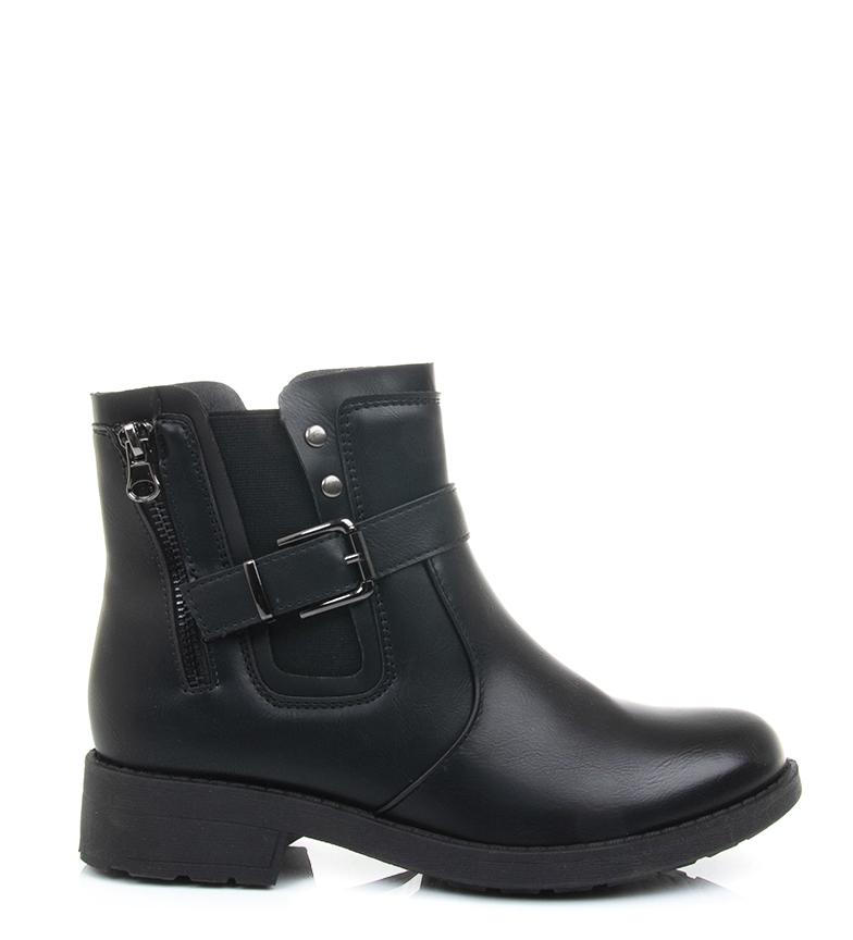 Comprar Gossip Girl Marta black boots -Heel height: 3.3cm