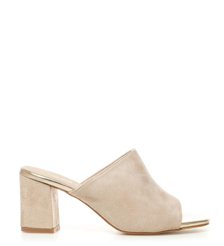 Comprar Sonnax Sandals Trina beige - Heel height: 7,5cm-