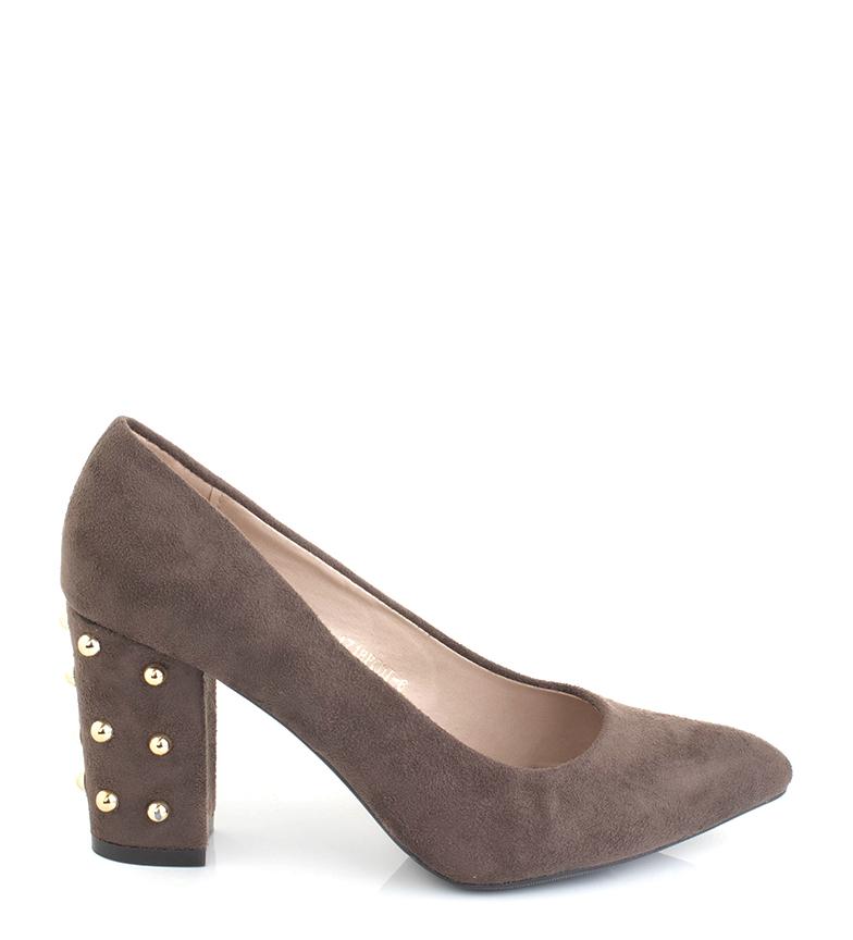 Comprar Sonnax Alina taupe sapatos - Altura do calcanhar: 9cm