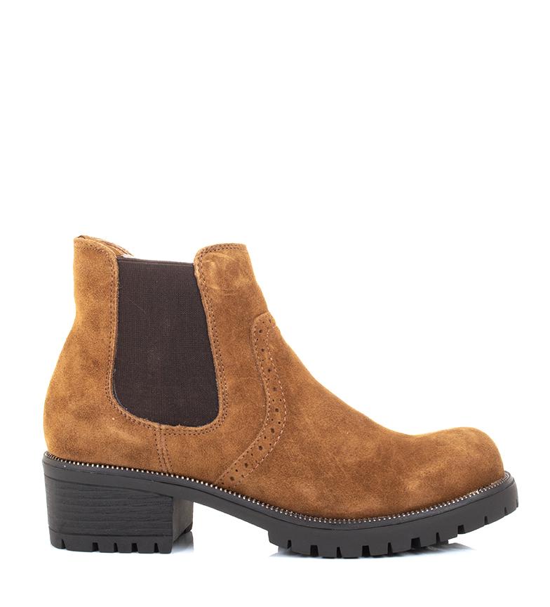 Comprar Sonnax Botines de piel Opportunity camel -altura tacón: 5 cm-