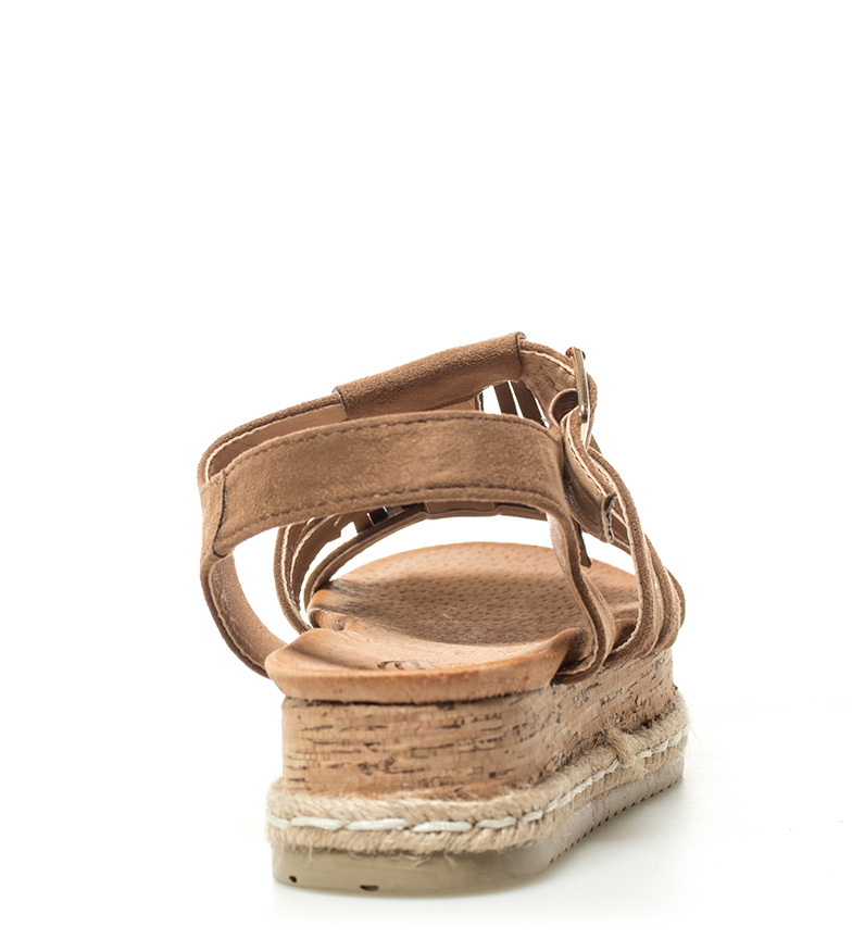 5cm flecos plataforma Sonnax Altura marrón Sandalias ZcSw7