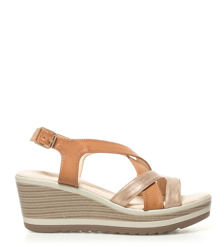 Comprar Sonnax Sandals Nidia camel - Wedge height: 7cm-