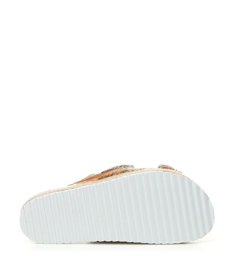 Sandalias 5cm plataforma Altura beige Sonnax Zuzene ZSn1qdHH