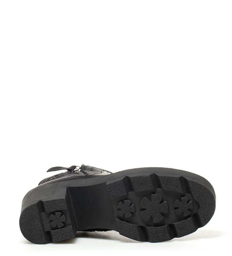 Altura negro 8 Mila Botas cm Sonnax tacón pq87Rt