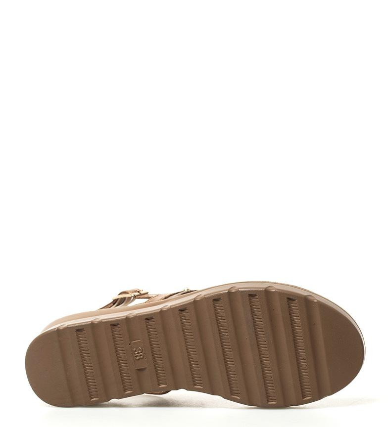 Sonnax Sandalias Belén marrón Altura cuña: 3,5cm
