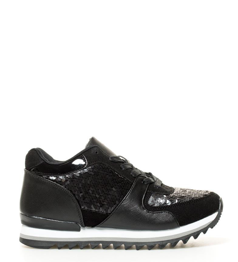 Sonnax cuña Teji 5cm negro negro Zapatillas cuña interior 5cm Sonnax Altura Zapatillas Altura interior Teji Sonnax 1xqwpA5