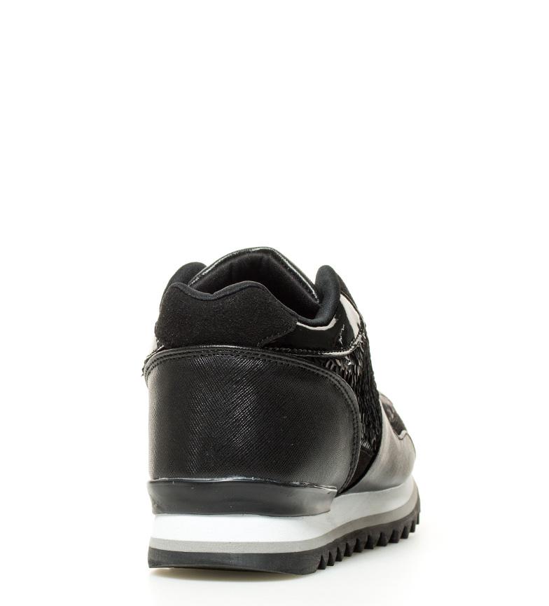 Sonnax Teji Altura Zapatillas interior negro cuña 5cm PHqTOwP7Sx