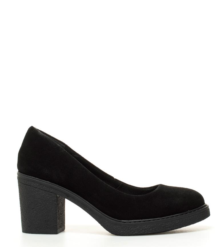 cm Abril tacón 8 Zapatos de negro Sonnax piel Altura w8pxqSP