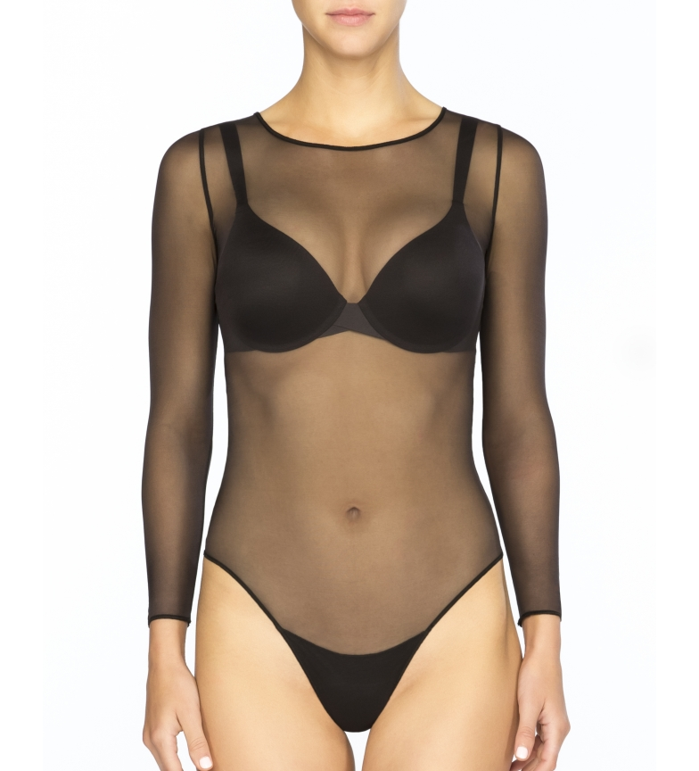 Comprar Spanx Spanx Women's Long Sleeve Non-Compression Bodystocking. Style 20119R Very Black
