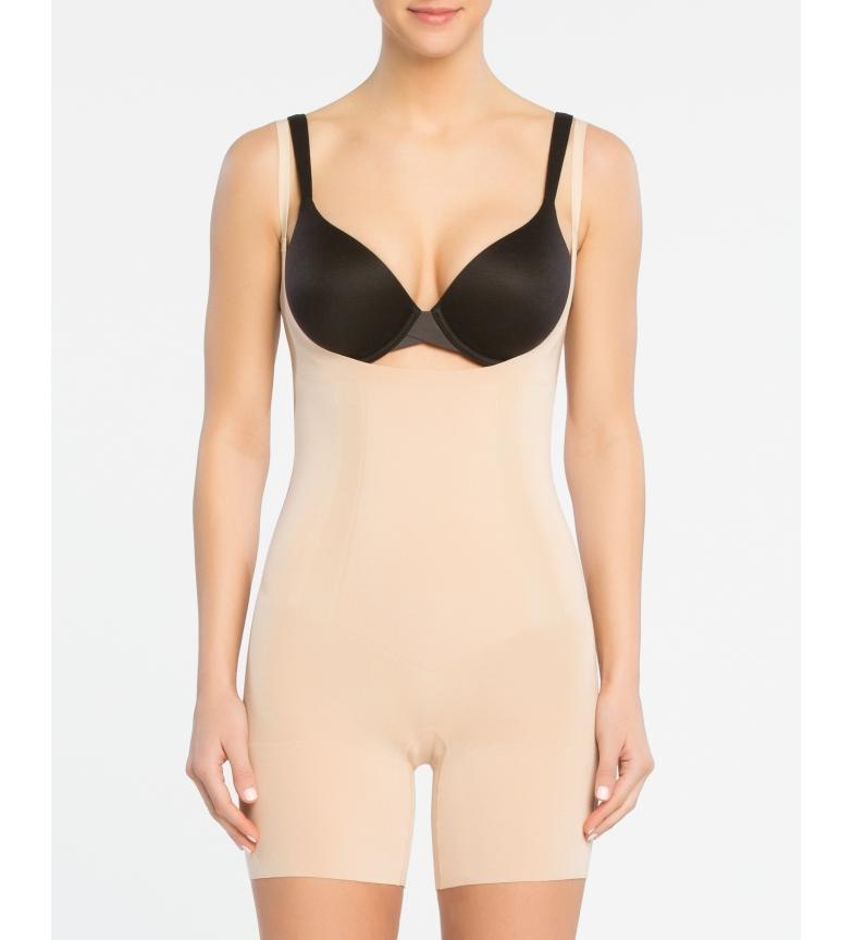 Comprar Spanx Cinta feminina Spanx com decote de busto e perna curta. Estilo 10130R Nu Macio