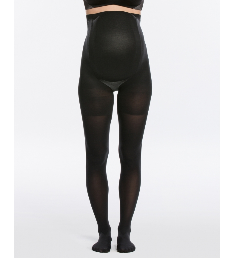 Comprar Spanx Meias Maternidade Girdle High Waist Stockings 20115R preto