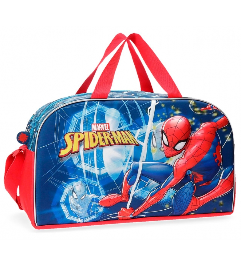 Comprar Spiderman Travel bag Spiderman Neo -45x26x20cm frontal 3D-