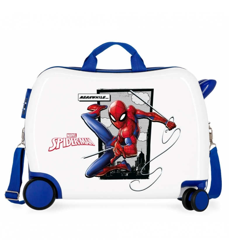 Comprar Spiderman Mala com 2 rodas multidirecionais Spiderman Ação -39x50x50x20cm