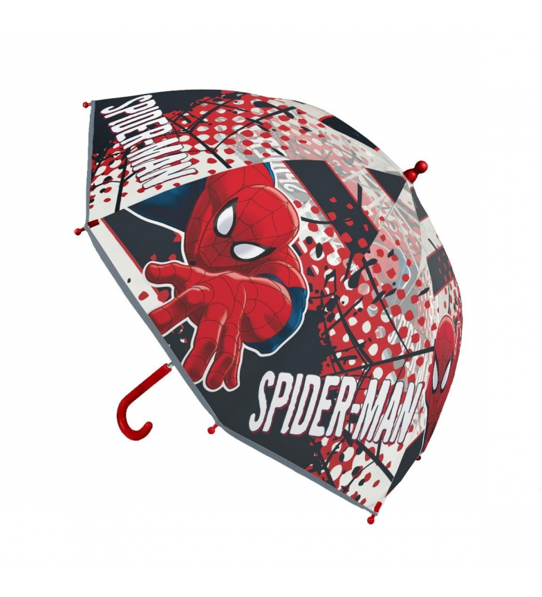 Comprar Spiderman Manual Poe Umbrella red, transparent