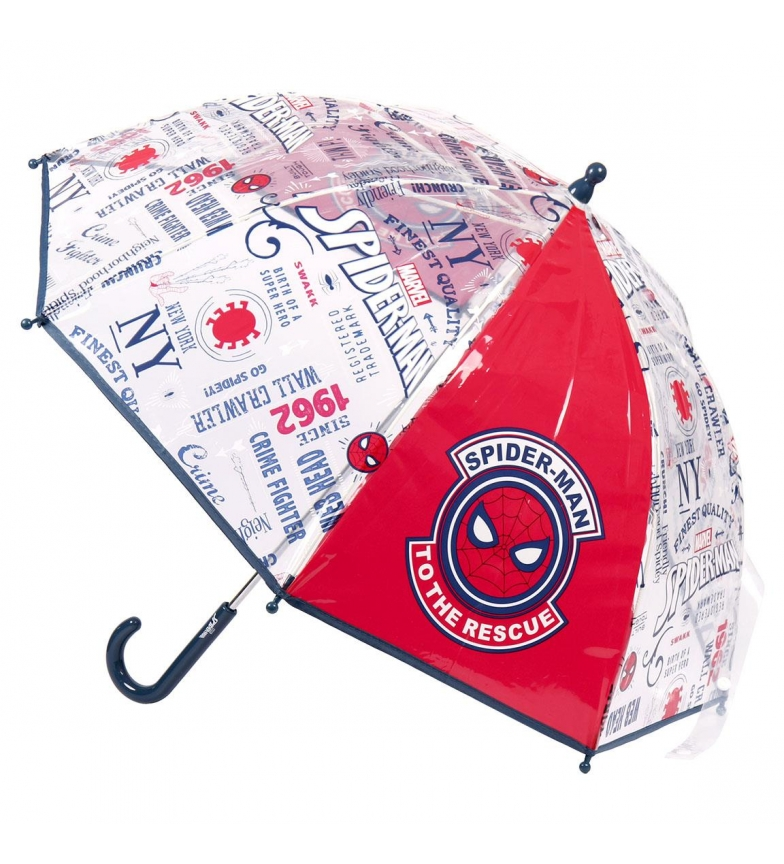 Comprar Spiderman Umbrella Manual Poe Spiderman red