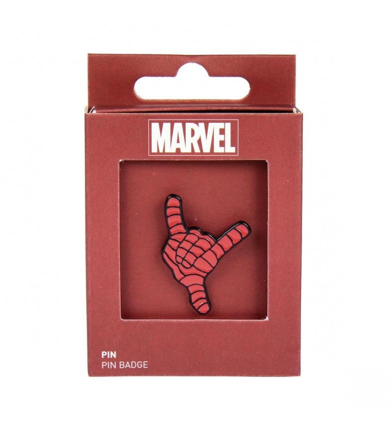 Comprar Spiderman Pin Metal Spiderman red