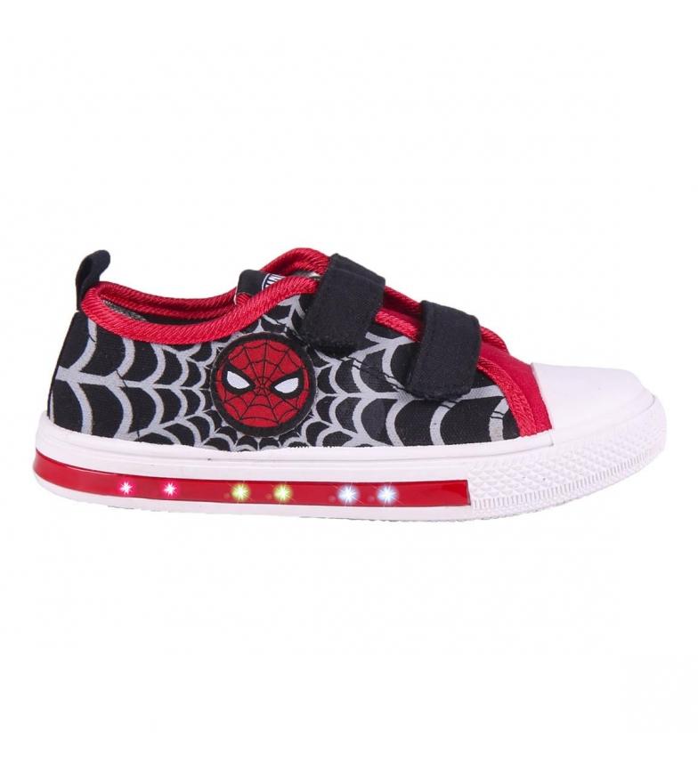 Comprar Spiderman Low Canvas Sneaker Low Lights black, red