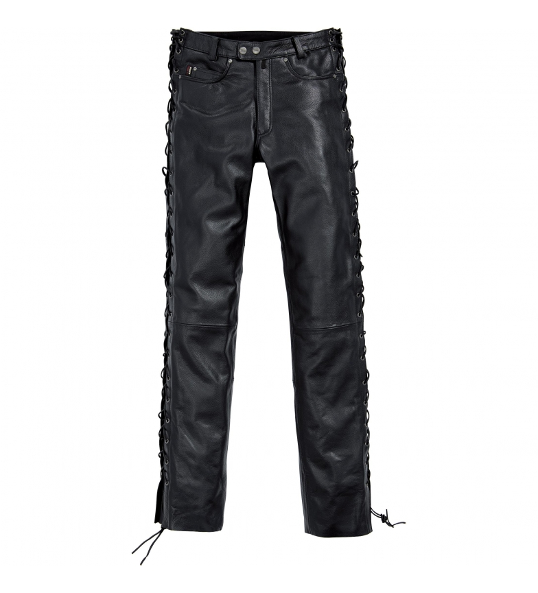 Comprar Spirit Motors Spirit Motors Lace-Up Leather Pants 1.0 Black