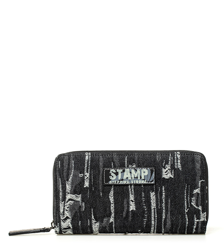 Comprar Stamp Black Adhara wallet -10x19x2cm-