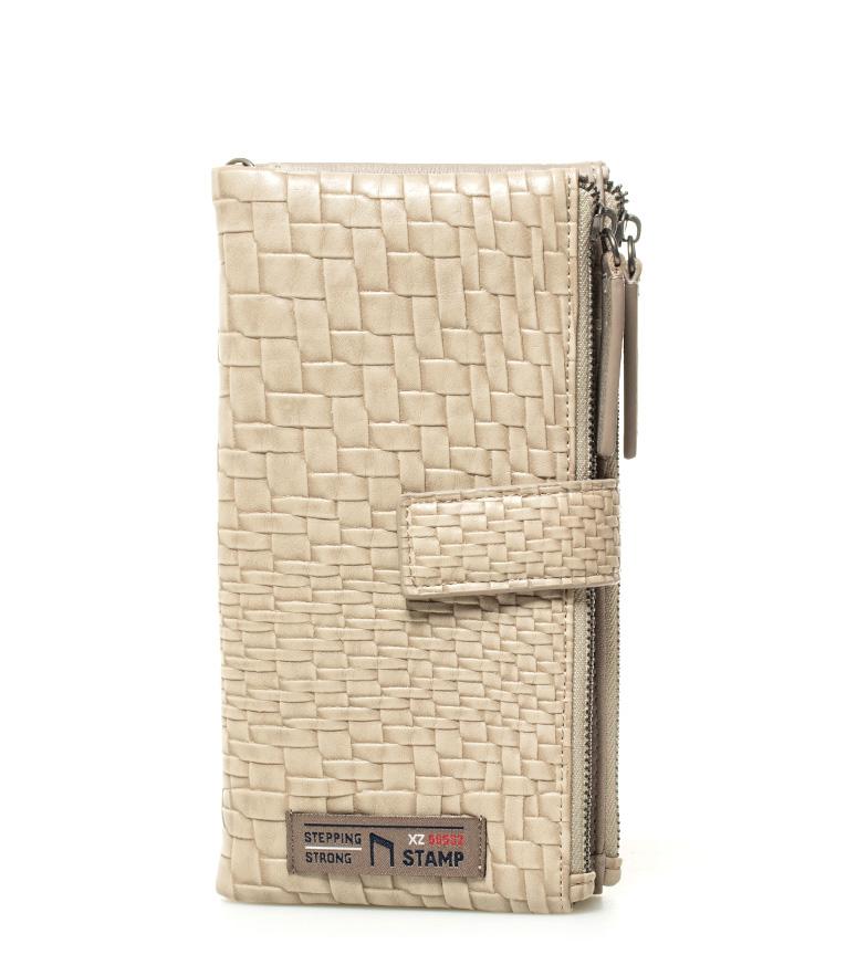 Comprar Stamp Billetero Beig beige -19x9x2cm-