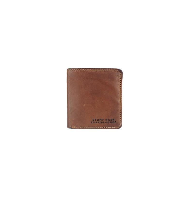 Comprar Stamp Carteira de couro MHST11984CU castanho -10x9x2cm