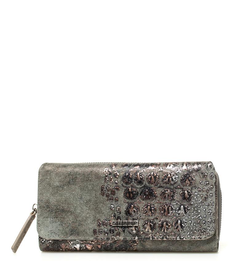 Comprar Stamp Deneb kaki wallet -10x20x3cm-