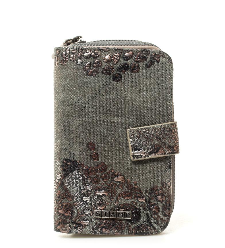Comprar Stamp Deneb kaki wallet -15x9,5x2cm-