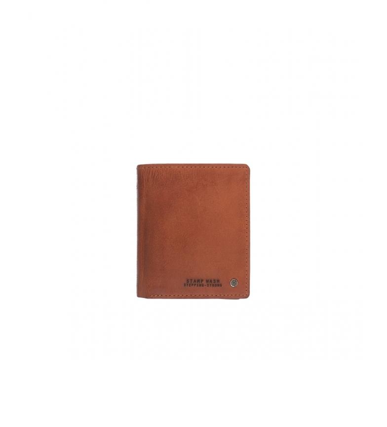 Comprar Stamp Leather wallet MHST00499CU brown -11x9x1cm