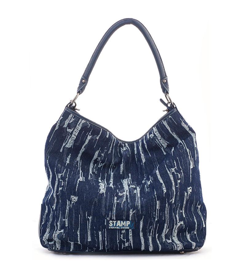 Comprar Stamp Adhara bag blue -37x36x15cm-
