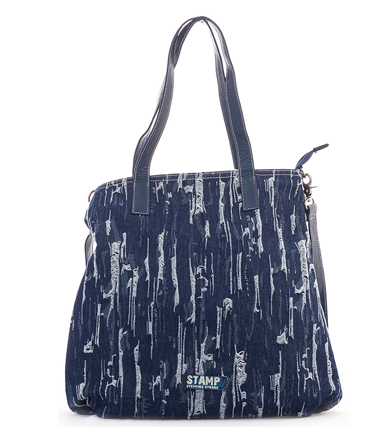 Comprar Stamp Adhara bag blue -41x32x10cm-