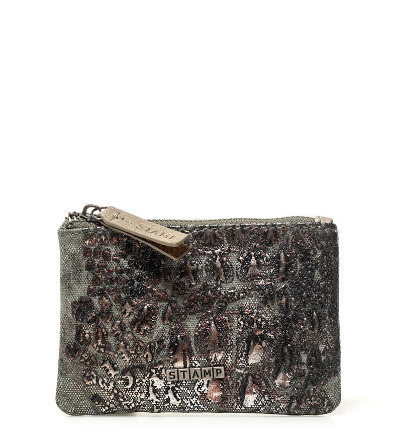 Comprar Stamp Deneb kaki purse -9,5x14x1cm-