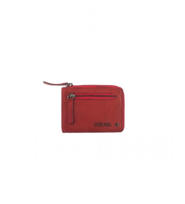 Comprar Stamp Estojo de Couro MHST00044RO vermelho -8x10x1cm