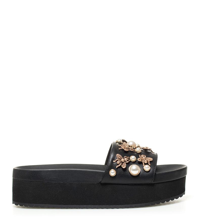 Comprar Steve Madden Enfeitar sandálias plataforma preto -altura: 5cm-