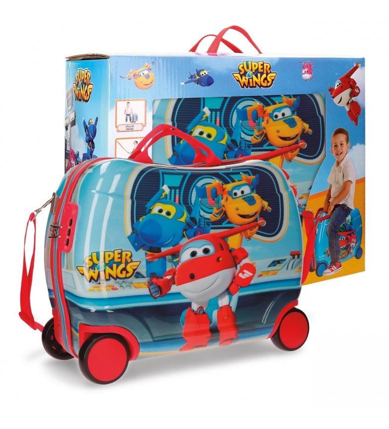Comprar Super Wings Suitcase Super Wings Control with box -38x50x20cm-