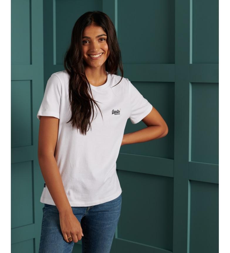 Comprar Superdry T-shirt em algodão orgânico branco