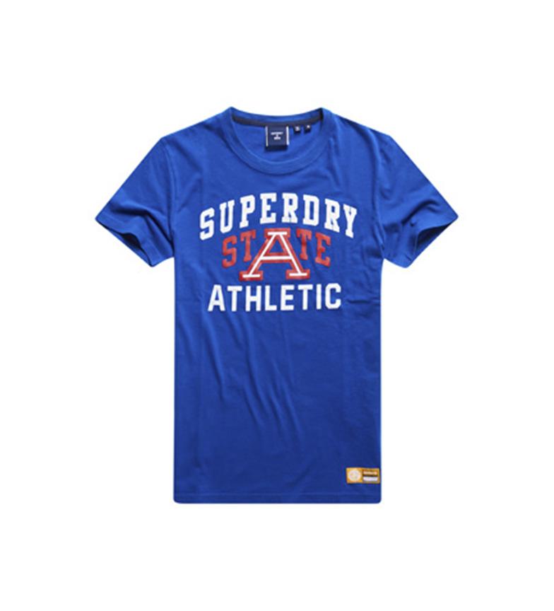 Comprar Superdry Camiseta Gráfica Leve Track & Field azul