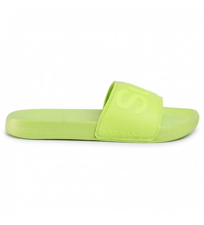 Comprar Superdry Piscina Flip Flops City Neon verde