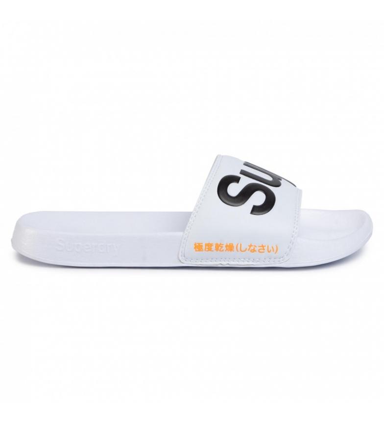 Comprar Superdry Classic Superdry Piscina Flip Flops branco