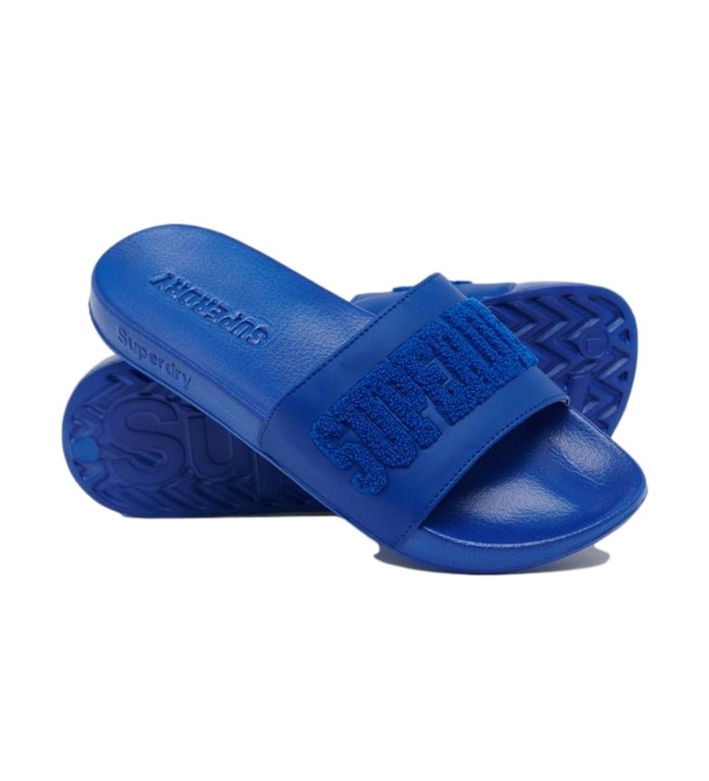 Comprar Superdry Flip Flops High Build Logo Pool azul