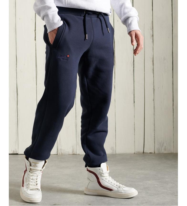 Comprar Superdry Pantaloni da jogging classici della collezione Navy Orange Label