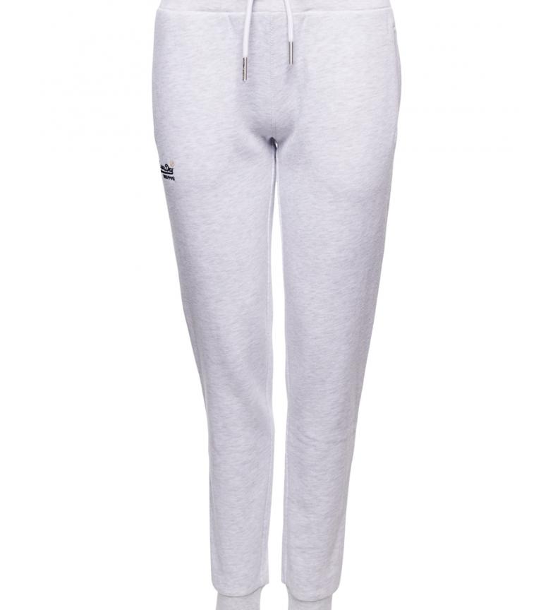 Comprar Superdry Pantalon de jogging Orange Label Collection blanc